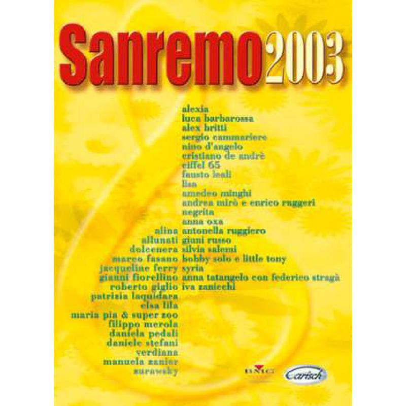 Titelbild für ML 2287 - SANREMO 2003