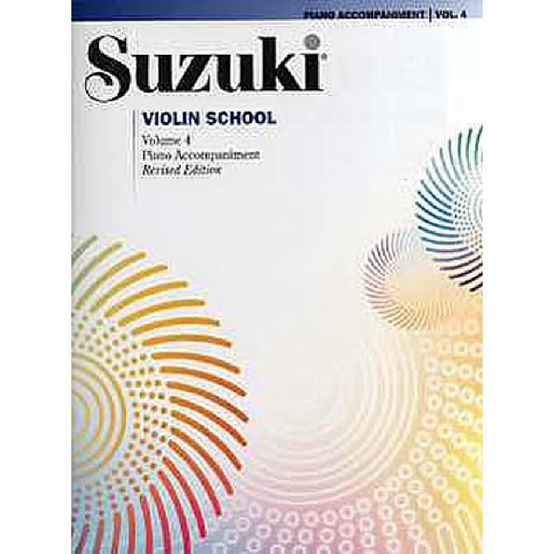 Titelbild für ALF 32089 - VIOLIN SCHOOL 4 - REVISED EDITION