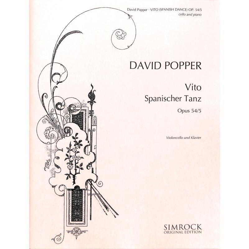 Titelbild für EE 0279 - VITA (SPANISCHE TAENZE OP 54/5)