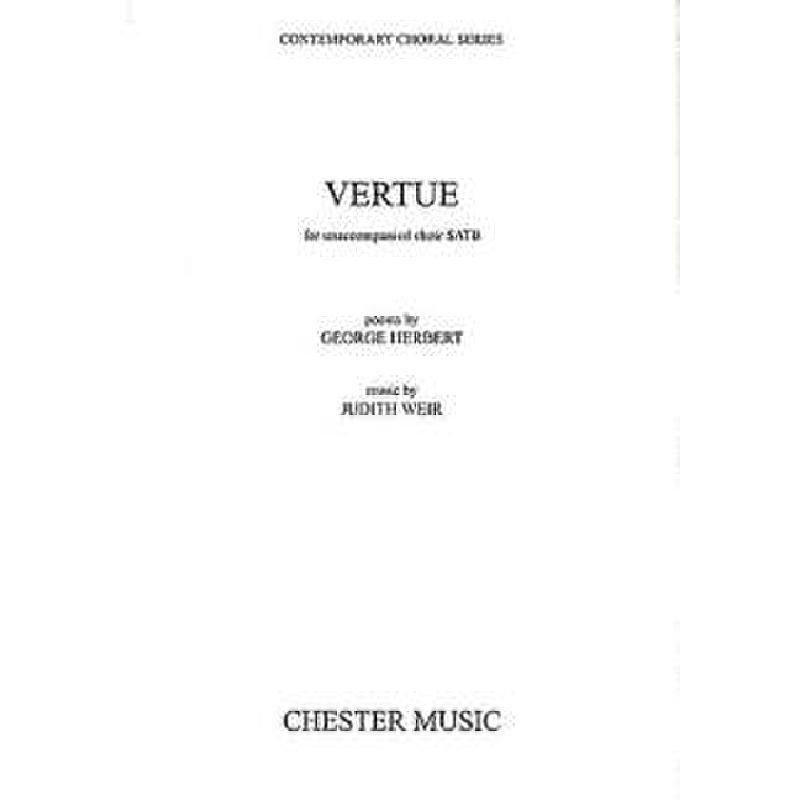Titelbild für CH 69993 - VERTUE