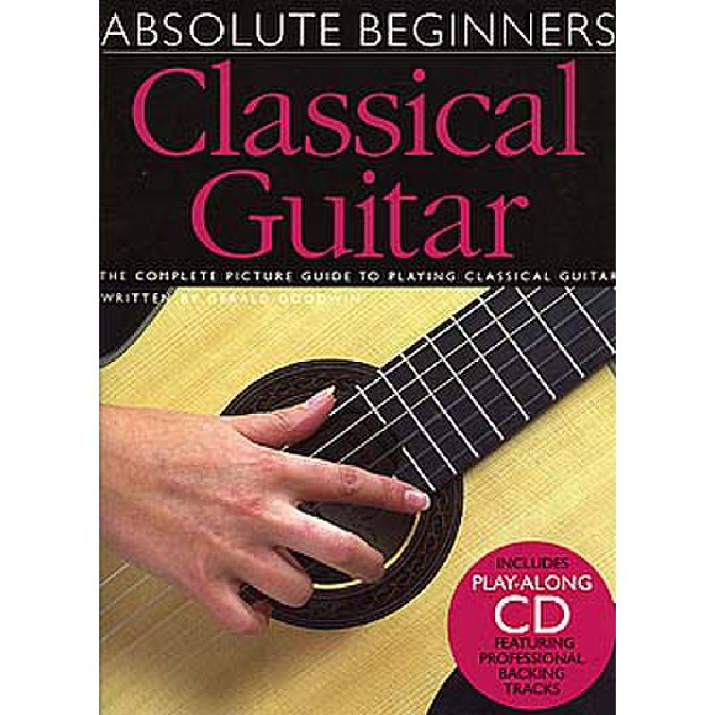 Titelbild für MSAM 972598 - ABSOLUTE BEGINNERS - CLASSICAL GUITAR