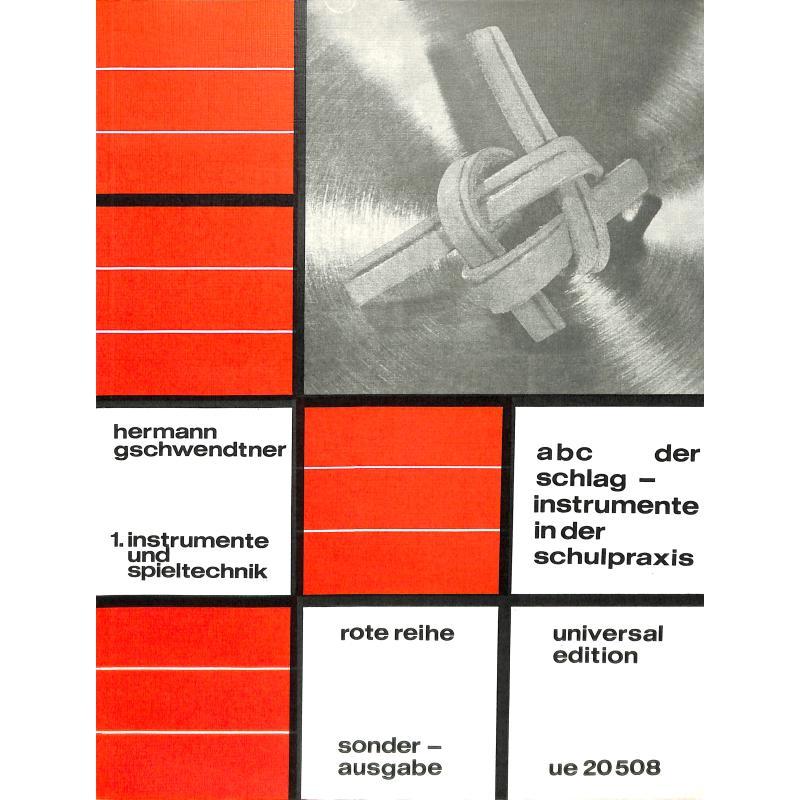 Titelbild für UE 20508 - ABC DER SCHLAGINSTRUMENTE IN DER SCHULPRAXIS