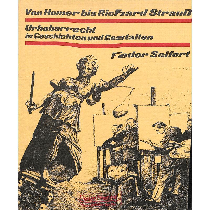 Titelbild für NB 0547 - VON HOMER BIS RICHARD STRAUSS - URHEBERRECHT IN GESCHICHTEN UND