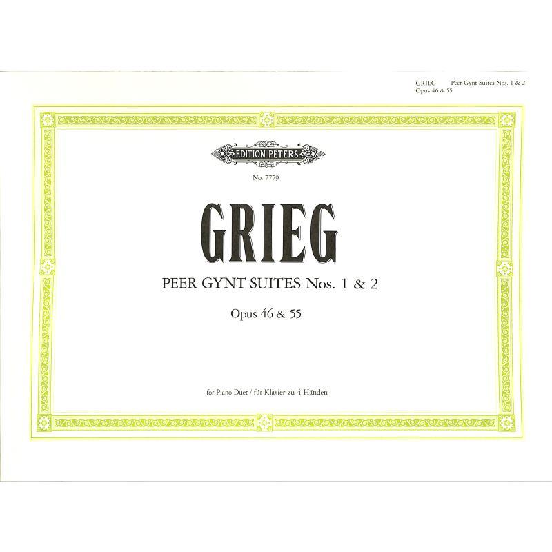 Titelbild für EP 7779 - PEER GYNT SUITE 1  OP 46 + PEER GYNT SUITE 2 OP 55