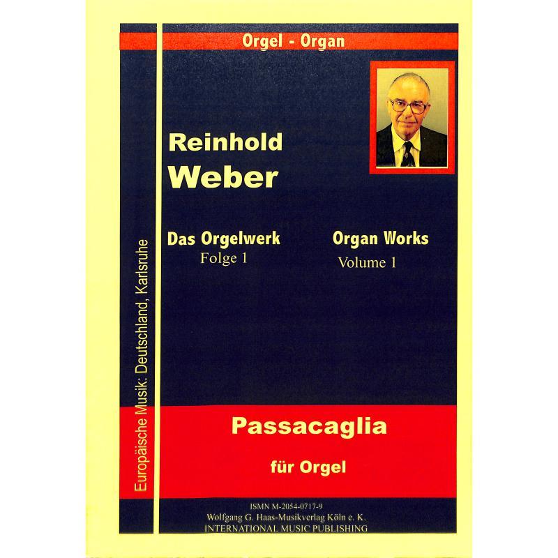 Titelbild für HAAS 0717-9 - PASSACAGLIA (1963) WEBWV 7