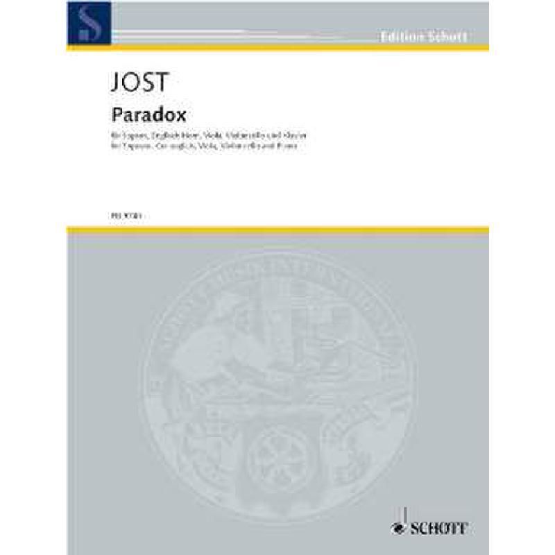 Titelbild für ED 9740 - PARADOX