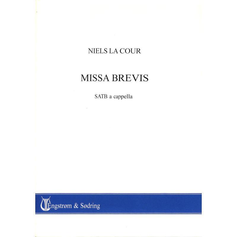 Titelbild für ES 590 - MISSA BREVIS