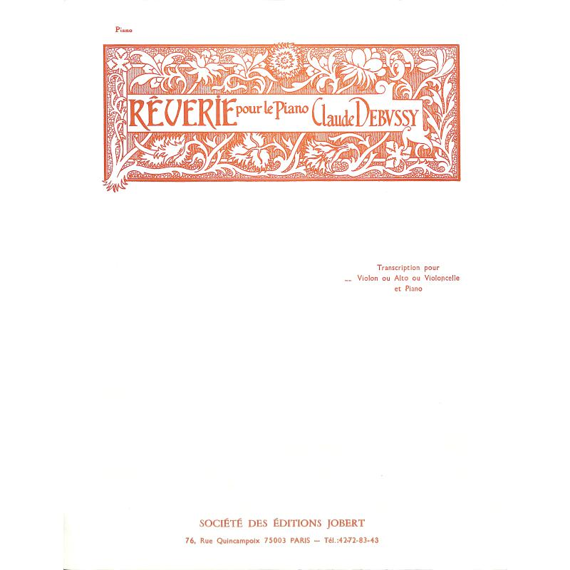 Titelbild für JOBERT 3096 - REVERIE