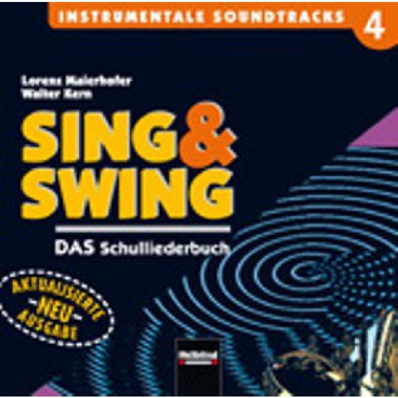 Titelbild für HELBL -S5344CD - SING + SWING CD 4 - DAS SCHULLIEDERBUCH