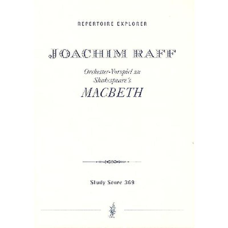Titelbild für MPH 369 - ORCHESTER VORSPIEL ZU MACBETH