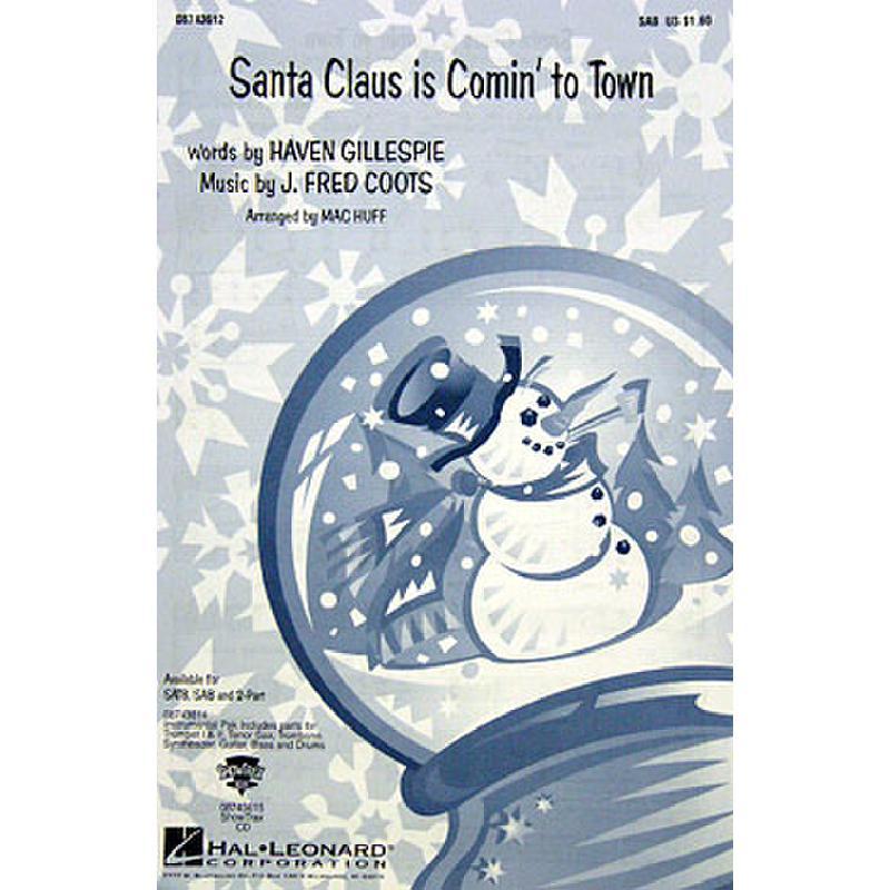 Titelbild für HL 8743612 - SANTA CLAUS IS COMIN' TO TOWN