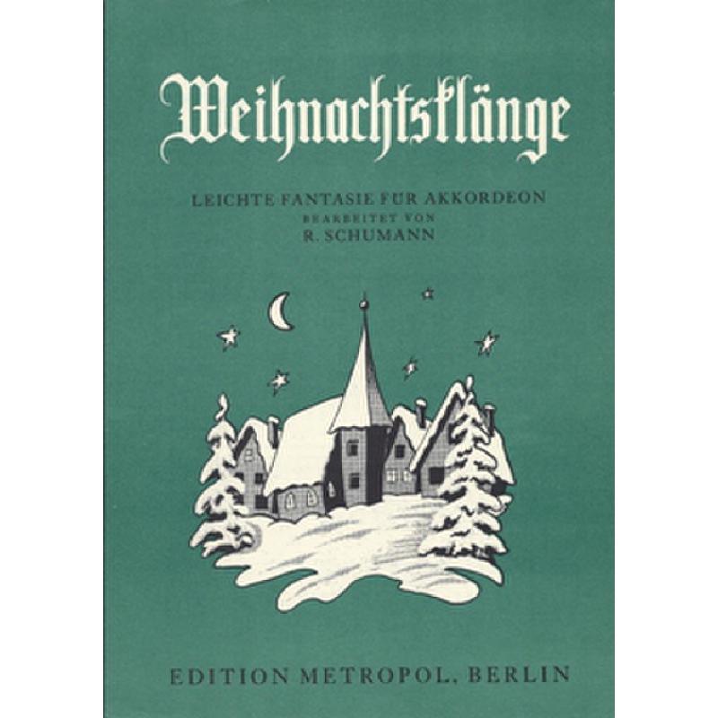 Titelbild für METEMB 483 - WEIHNACHTSKLAENGE - FANTASIE