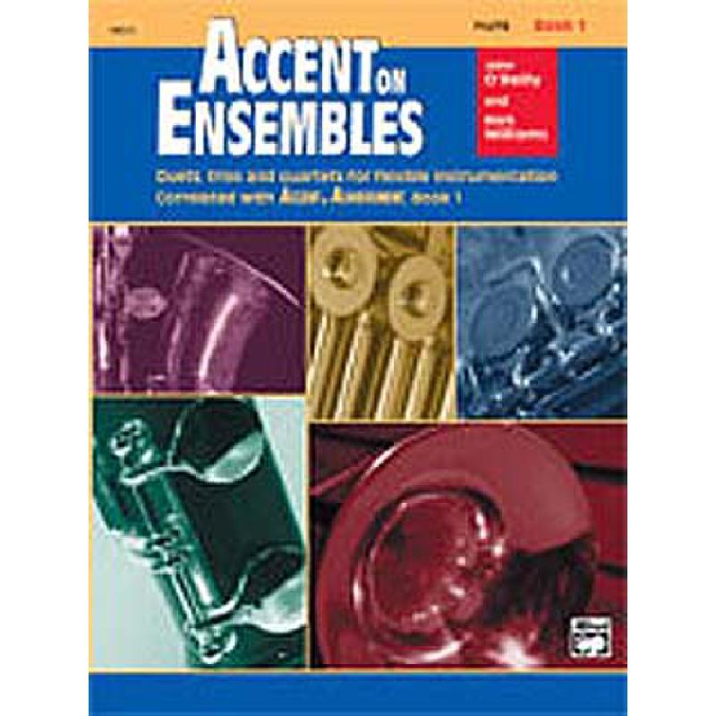 Titelbild für ALF 19618 - ACCENT ON ENSEMBLES 1