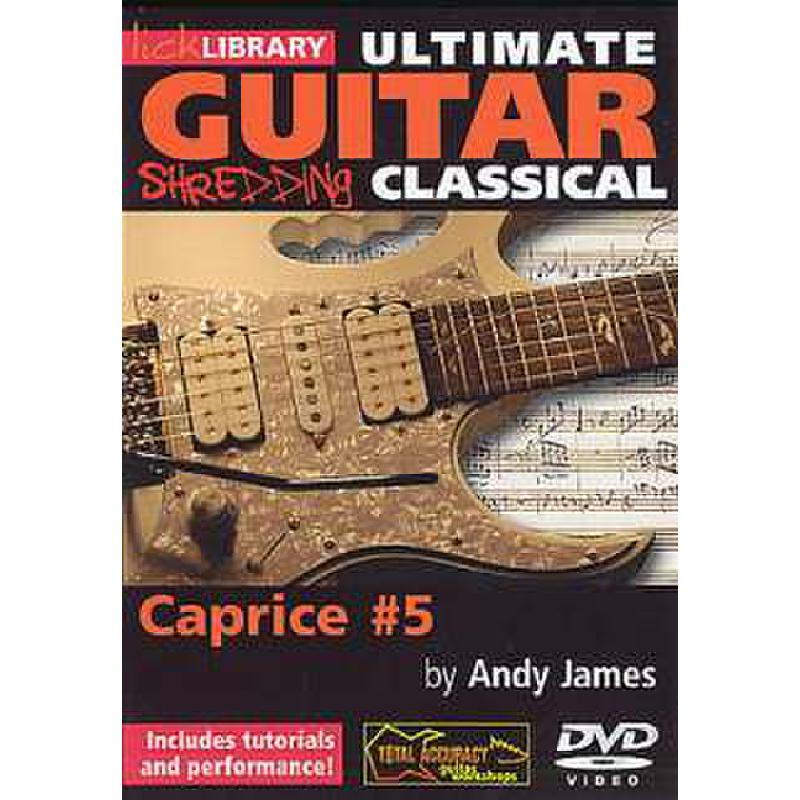 Titelbild für RDR 0174 - ULTIMATE GUITAR SHREDDING CLASSICAL - CAPRICE NR 5 (PAGANINI)