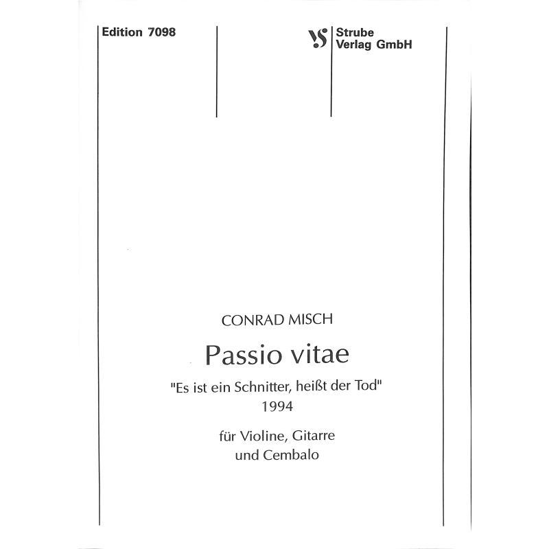 Titelbild für VS 7098 - PASSIO VITAE