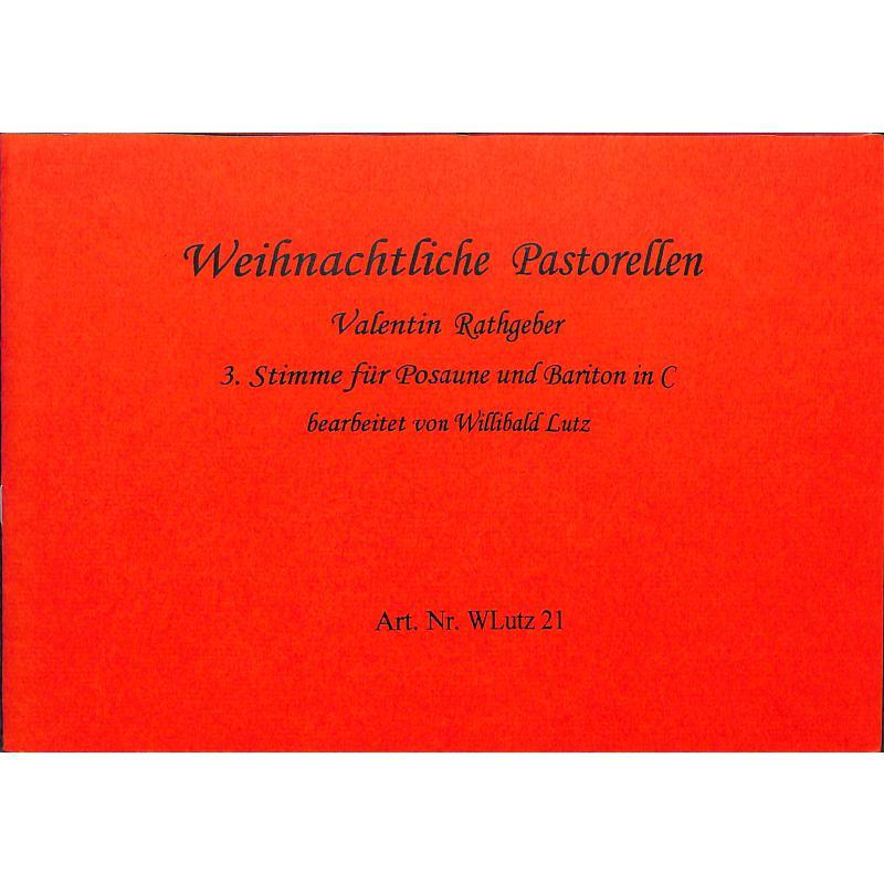 Titelbild für WLUTZ 21 - WEIHNACHTLICHE PASTORELLEN