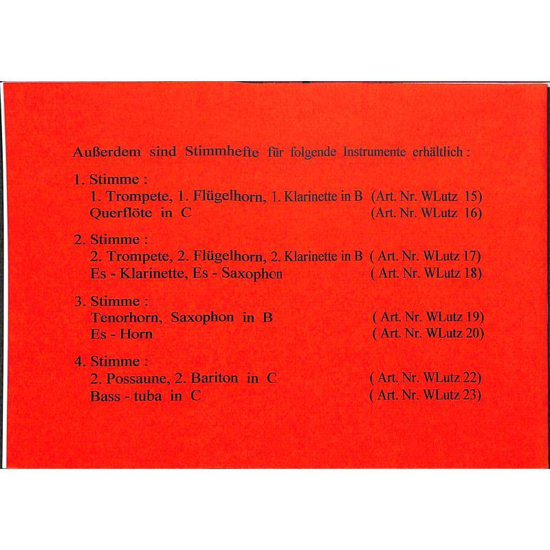 Notenbild für WLUTZ 21 - WEIHNACHTLICHE PASTORELLEN