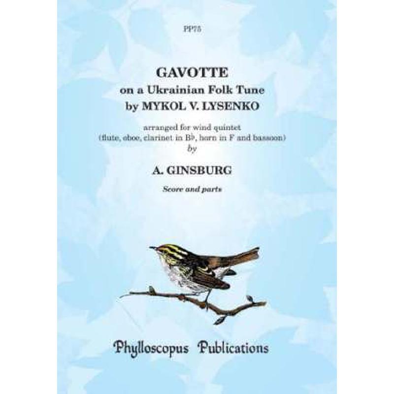 Titelbild für PHYLL -PP75 - GAVOTTE