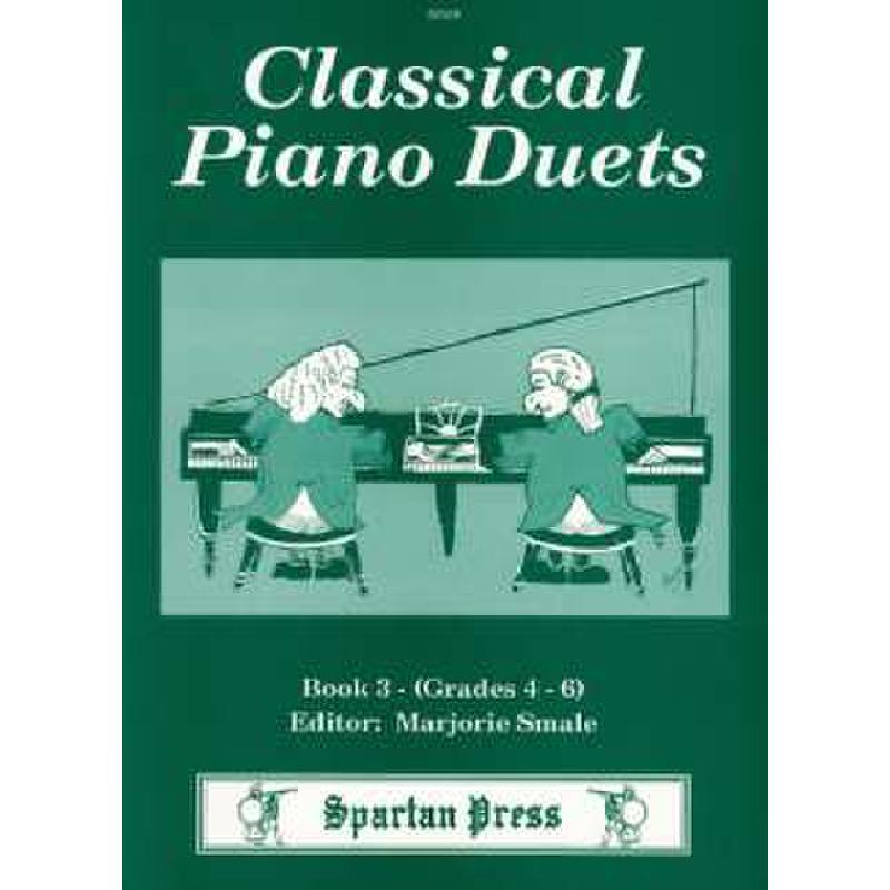 Titelbild für SPARTAN 219 - CLASSICAL PIANO DUETS 3