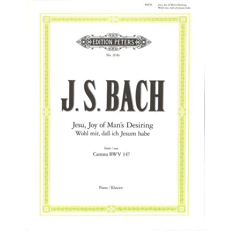 Titelbild für EP 264B - JESUS BLEIBET MEINE FREUDE (KANTATE BWV 147)