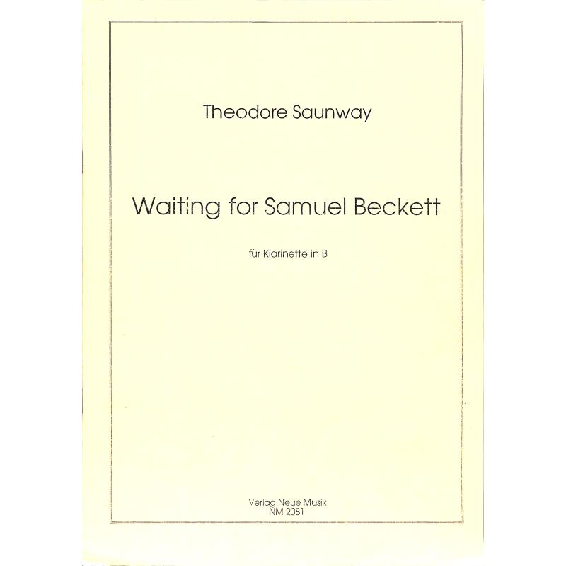 Titelbild für NM 2081 - WAITING FOR SAMUEL BECKETT