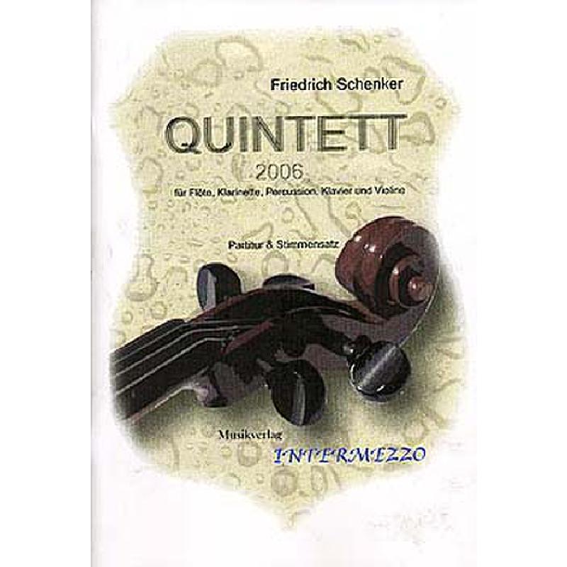 Titelbild für INTERMEZZO 026-3 - QUINTETT