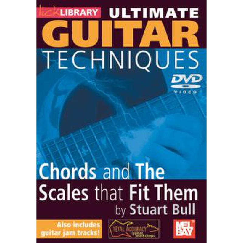 Titelbild für RDR 0131 - ULTIMATE GUITAR TECHNIQUES - CHORDS AND THE SCALES THAT FIT THEM