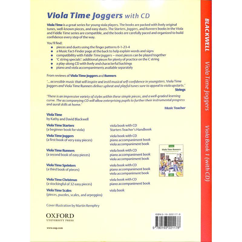 Notenbild für 978-0-19-322117-8 - VIOLA TIME JOGGERS 1