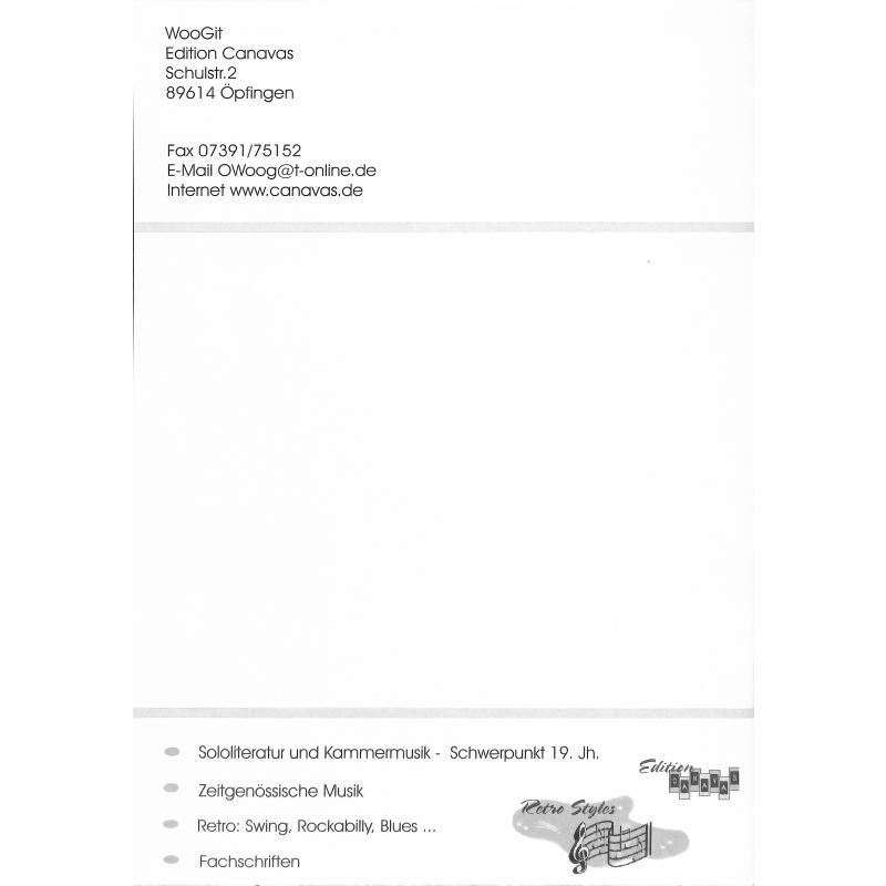 Notenbild für CANAVAS 011977 - VOEGELCHENSUITE OP 62 NR 1-3 + DER SCHLAF OP 2