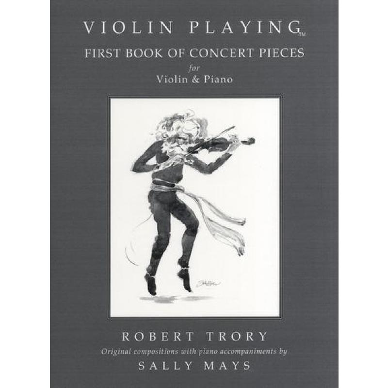 Titelbild für SPARTAN -WAV006 - VIOLIN PLAYING - FIRST BOOK OF CONCERT PIECES