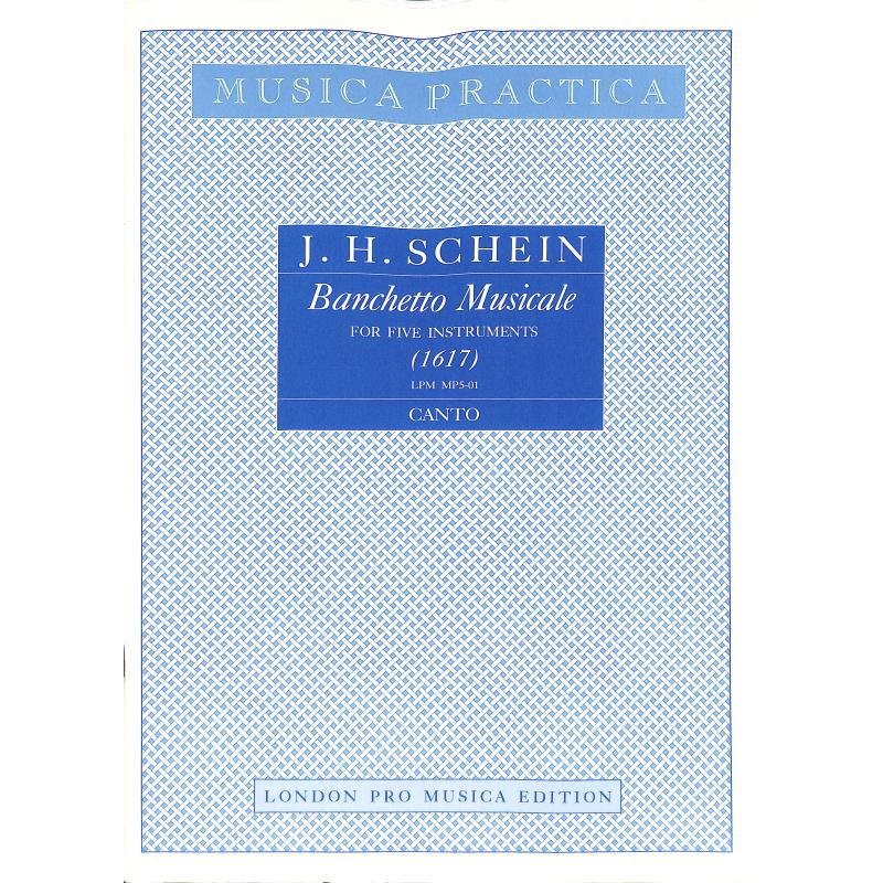 Titelbild für LPM -MP5-01 - BANCHETTO MUSICALE A 5