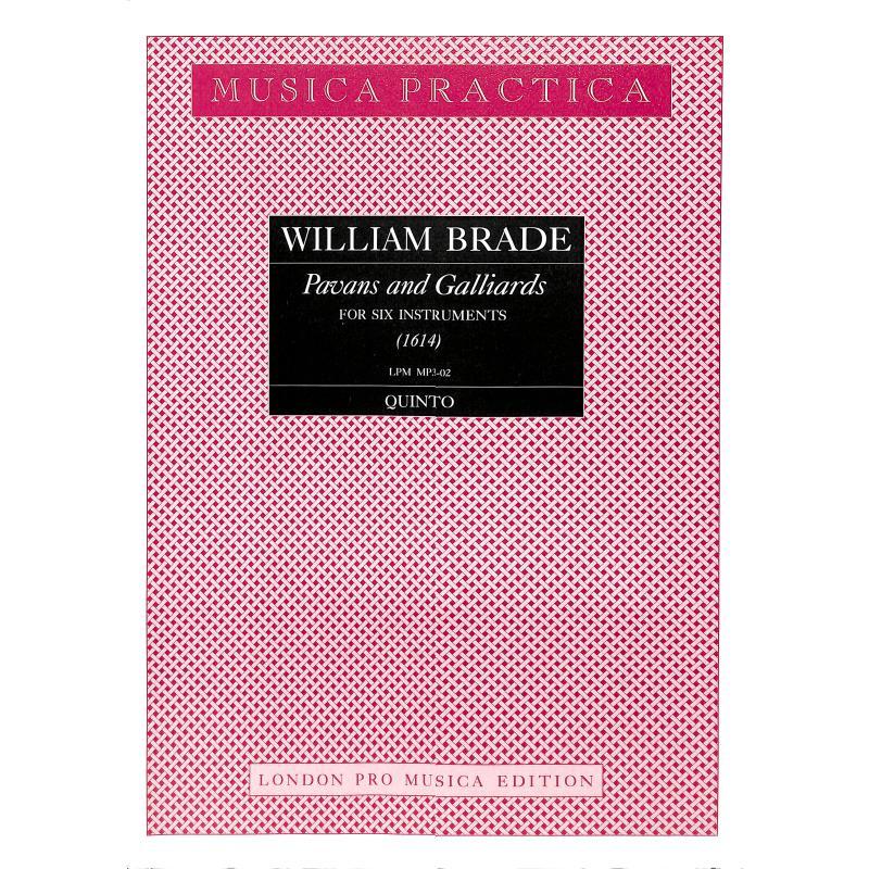 Titelbild für LPM -MP3-02 - PAVANS + GALLIARDS (1614) A 6