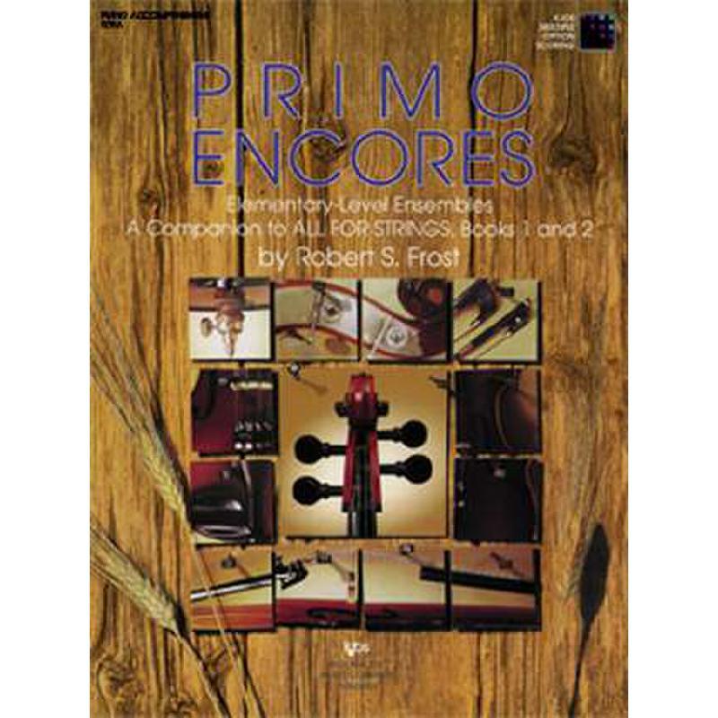 Titelbild für KJOS 97F - PRIMO ENCORES