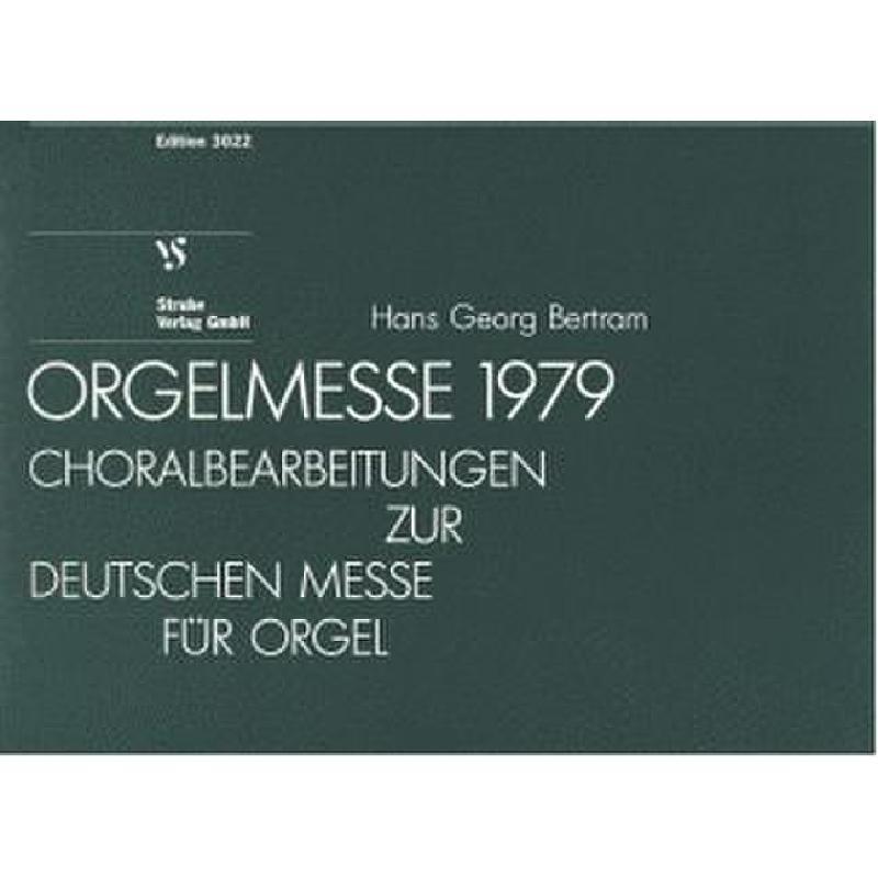 Titelbild für VS 3022 - ORGELMESSE (1979)