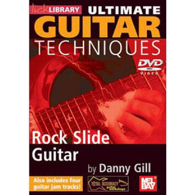 Titelbild für RDR 0133 - ULTIMATE GUITAR TECHNIQUES - ROCK SLIDE GUITAR
