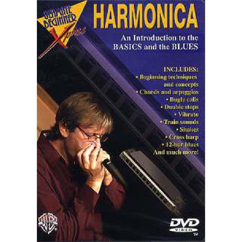 Titelbild für DVD 908108 - HARMONICA - AN INTRODUCTION TO THE BASICS + THE BLUES