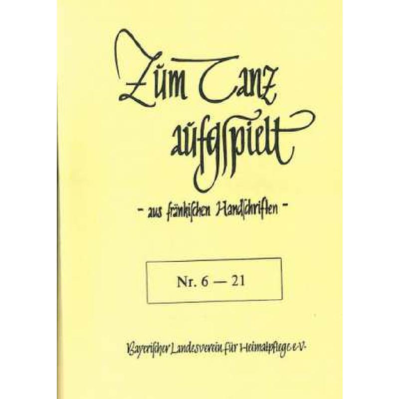 Titelbild für LV -A24-6-21 - ZUM TANZ AUFGSPIELT
