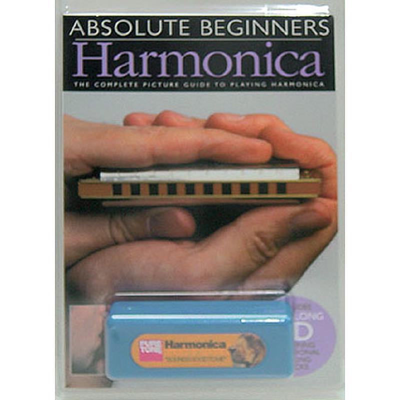 Titelbild für MSAM 92237 - ABSOLUTE BEGINNERS HARMONICA
