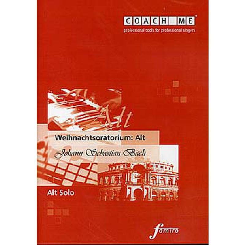 Titelbild für FMMS 31-02 - WEIHNACHTSORATORIUM BWV 248 - ALT SOLO