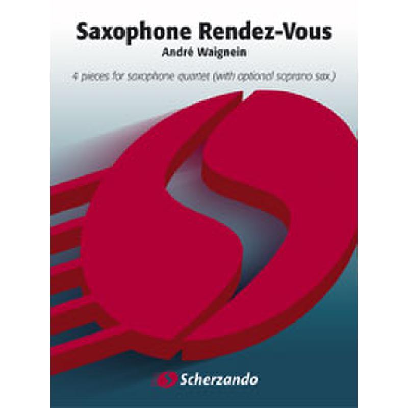 Titelbild für HASKE 1166S - SAXOPHONE RENDEZVOUS