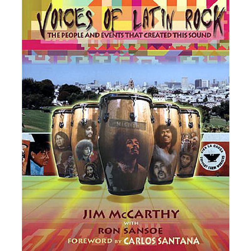 Titelbild für HL 331224 - VOICES OF LATIN ROCK