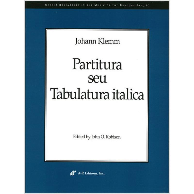 Titelbild für AREDITION -B092 - Partitura seu tabulatura italica