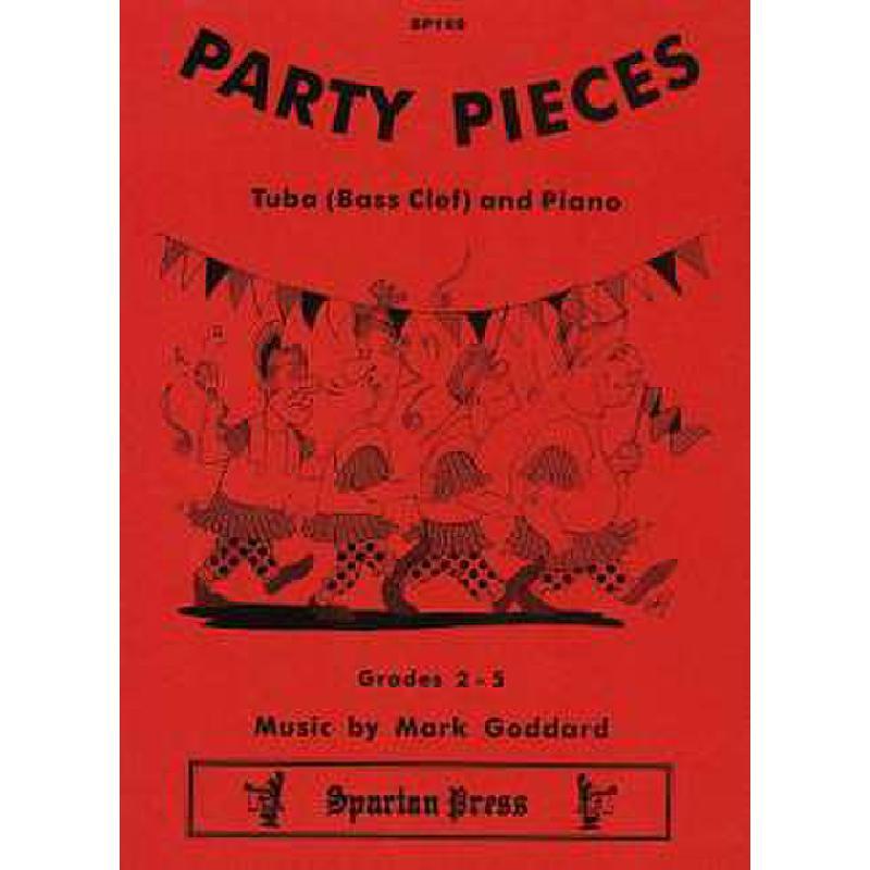 Titelbild für SPARTAN 169 - PARTY PIECES