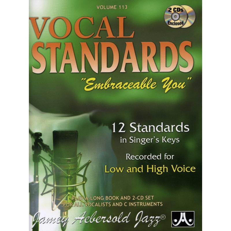 Titelbild für AEB -V113DS - VOCAL STANDARDS - EMBRACEABLE YOU