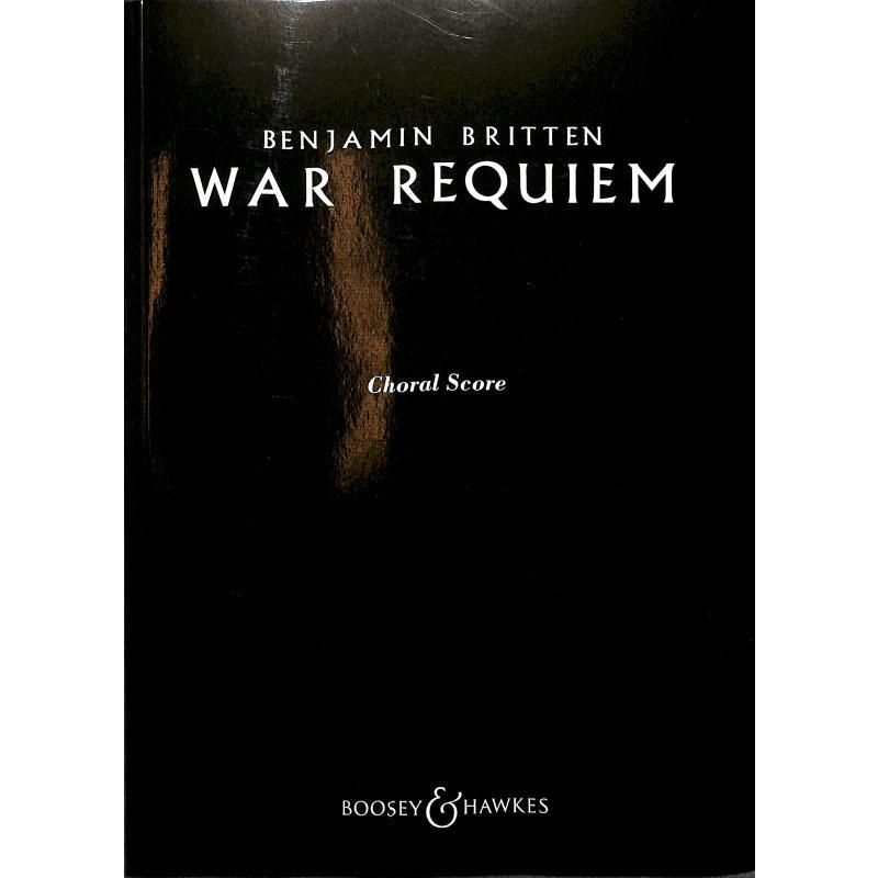 Titelbild für BH 5500013 - WAR REQUIEM OP 66