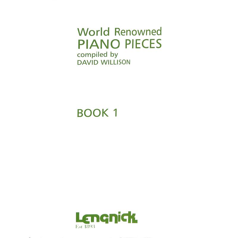 Titelbild für LENGNICK 0400 - WORLD RENOWNED PIANO PIECES 1