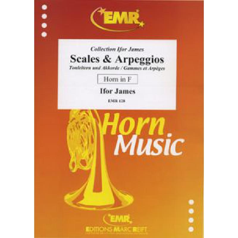 Titelbild für EMR 128 - SCALES + ARPEGGIOS