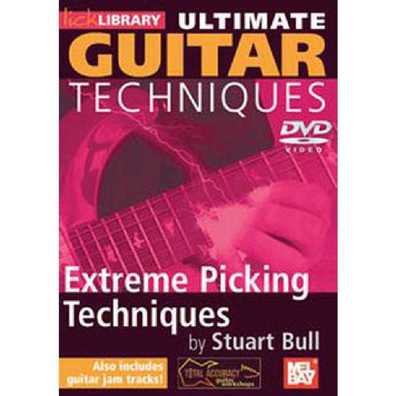 Titelbild für RDR 0130 - ULTIMATE GUITAR TECHNIQUES - EXTREME PICKING TECHNIQUES