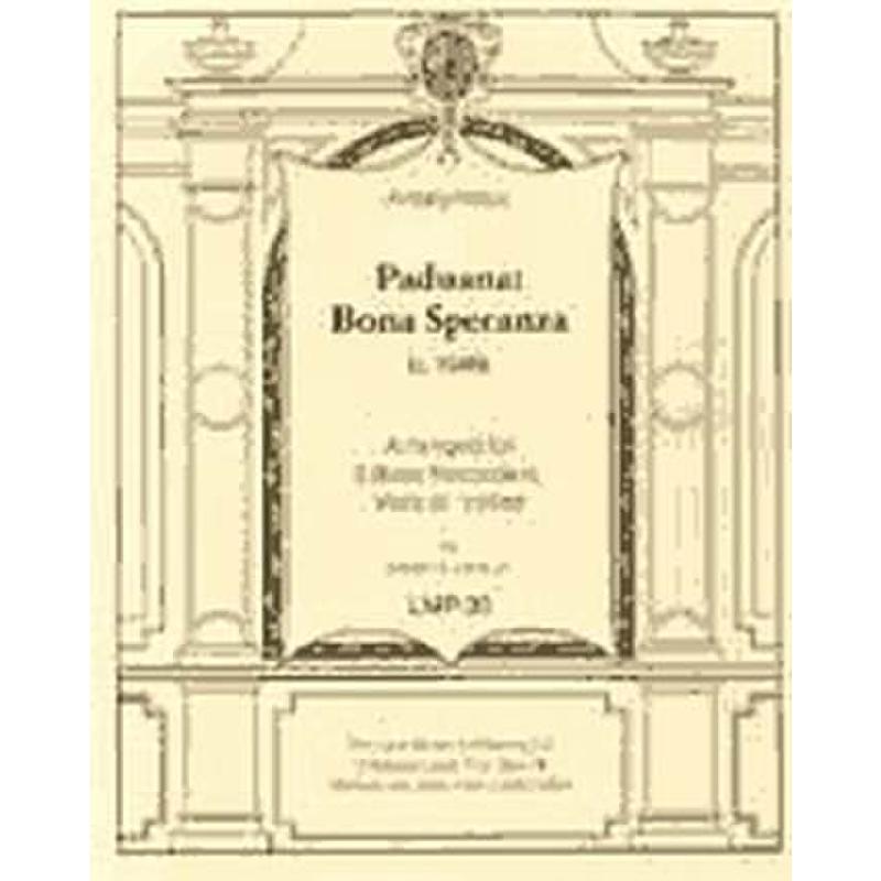 Titelbild für LOUX -LMP-30 - PADUANA BONA SPERANZA