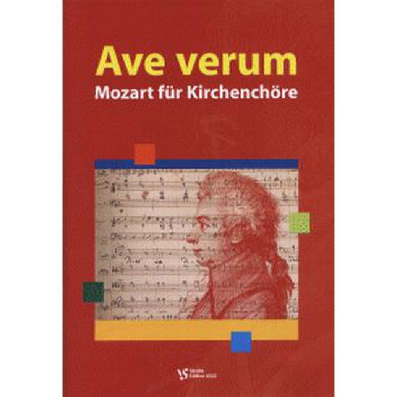 Titelbild für VS 6322 - AVE VERUM - MOZART FUER KIRCHENCHOERE